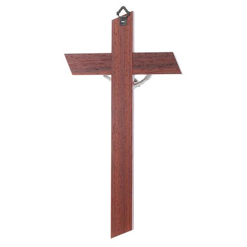 Krucyfiks padouk drewno oliwkowe 4
