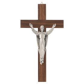 Crucifix en bois, résurrection du Christ s1