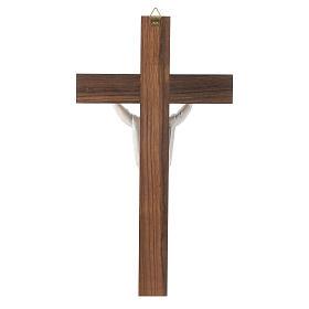 Crocefisso legno Cristo Risorto s4