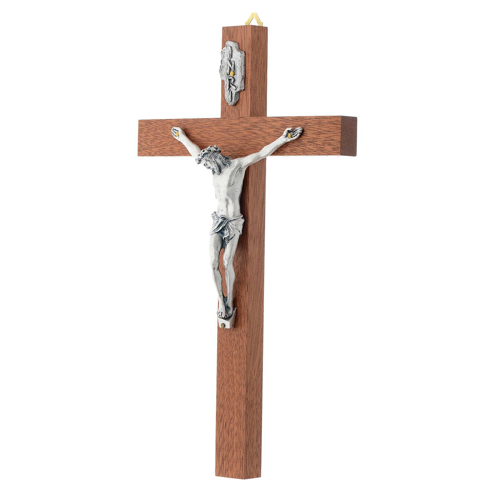 Wooden crucifix, straight 4