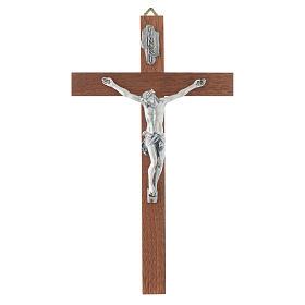Crucifix en bois étroit s1