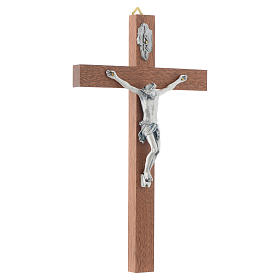 Crucifix en bois étroit s3