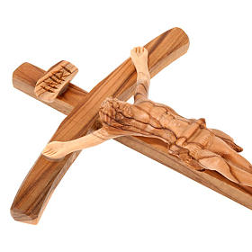 Croix terre sainte bois naturel s3