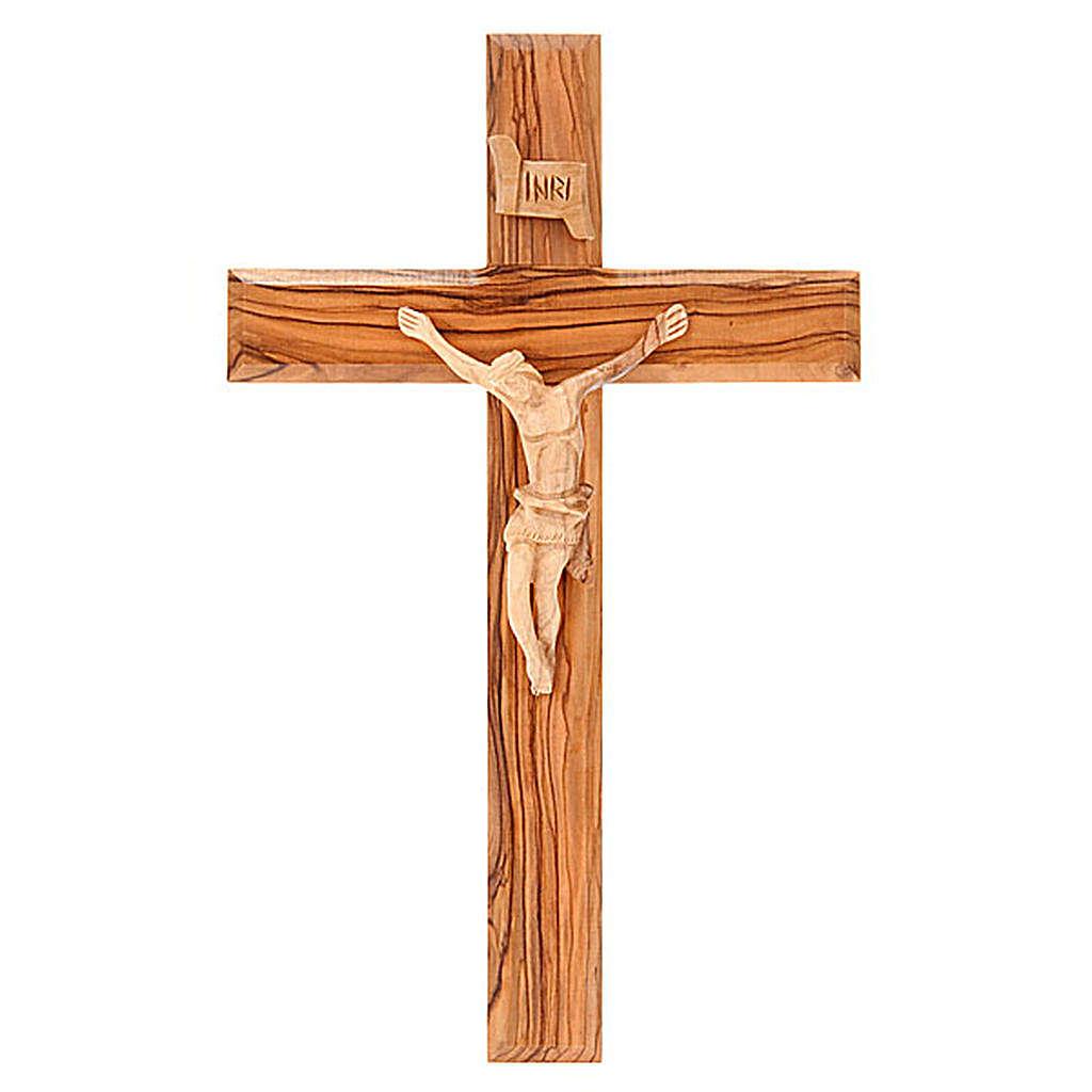 Croce Terrasanta ulivo naturale 4
