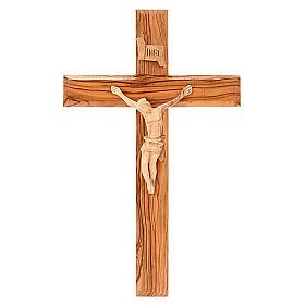 Croce Terrasanta ulivo naturale s1