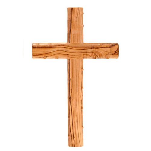 Madera de olivo. Santa cruz Cruz de madera de pie 15/cm Cruz de madera