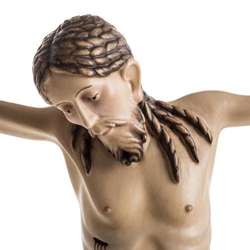 Corpo di Cristo San Damiano legno dipinto Val Gardena 3