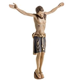 Body of Christ san Damiano painted wood, Val Gardena s7