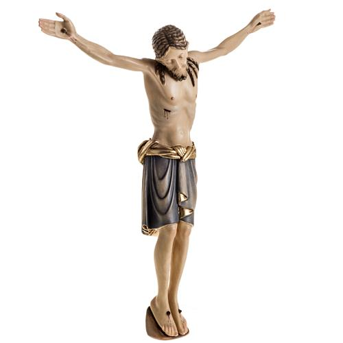 Body of Christ san Damiano painted wood, Val Gardena 7
