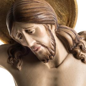 Corpus in wood Cimabue style, Val Gardena s2