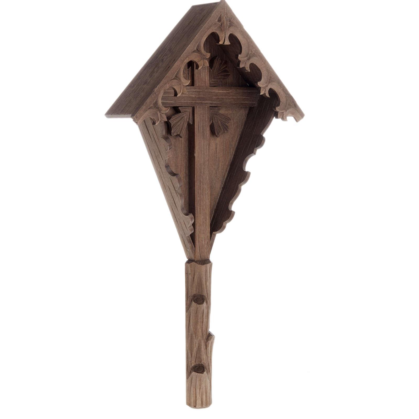 Croce di campagna abete Val Gardena 4