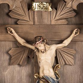 Croix de campagne et Corps du Christ bois s4