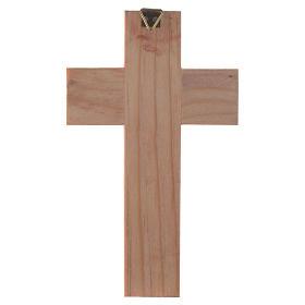 Cruz Sagrada Família madeira esmaltada s5