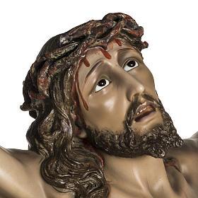 Corpo di Cristo agonia pasta di legno varie misure s5