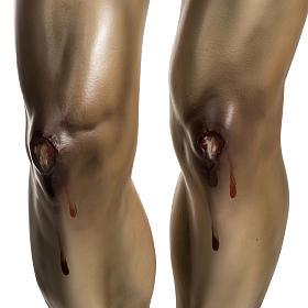 Corpo di Cristo agonia pasta di legno varie misure s8