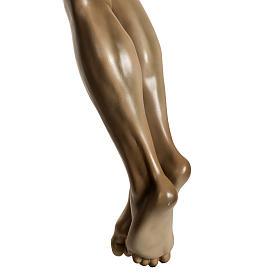 Corpo di Cristo agonia pasta di legno varie misure s12