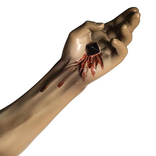 Corpo di Cristo agonia pasta di legno varie misure 7