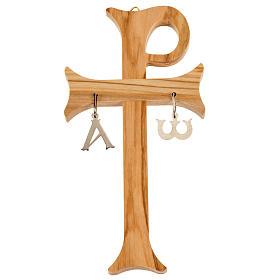 Croce di Aquileia legno olivo s1