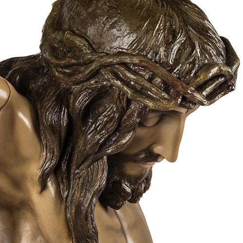 Corps du Christ mort 160cm pâte à bois rayons, extra 12