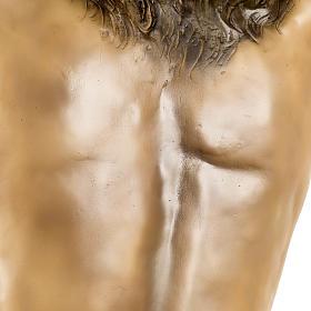 Corpo di Cristo morto 160cm pasta legno raggiera, finitura extra s16
