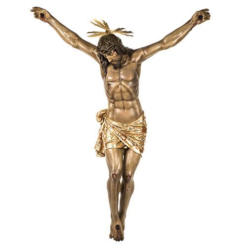Corpo di Cristo morto 160cm pasta legno raggiera, finitura extra 1