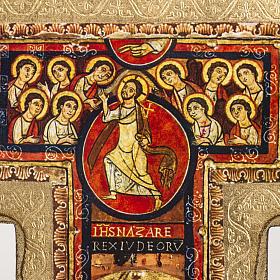 Crucifix de St Damien imprimé sur bois s3