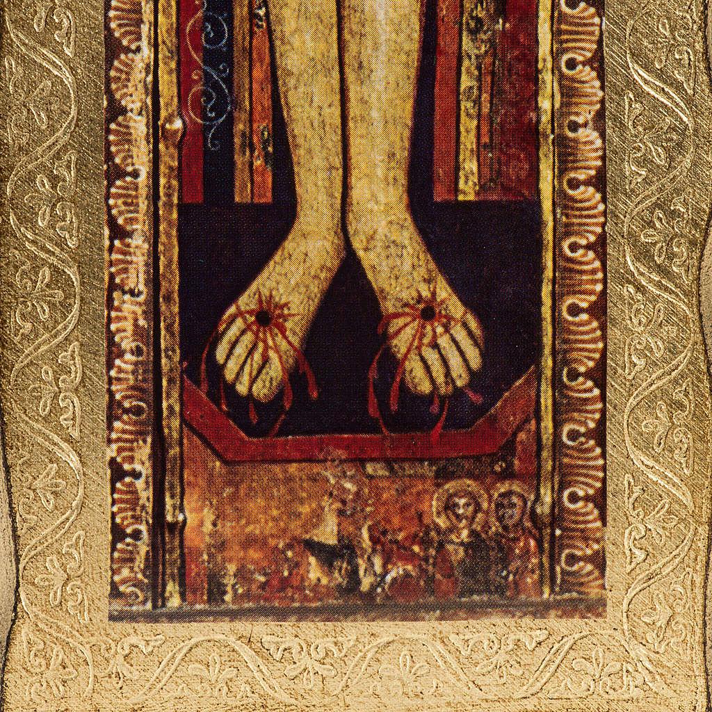 Saint Damien crucifix printed on wood 4