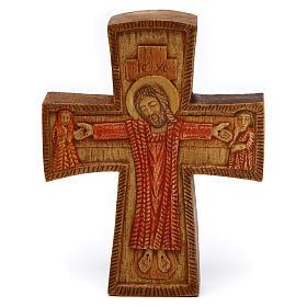 Crucifix en bois: Christ de Compassion bois Bethléem