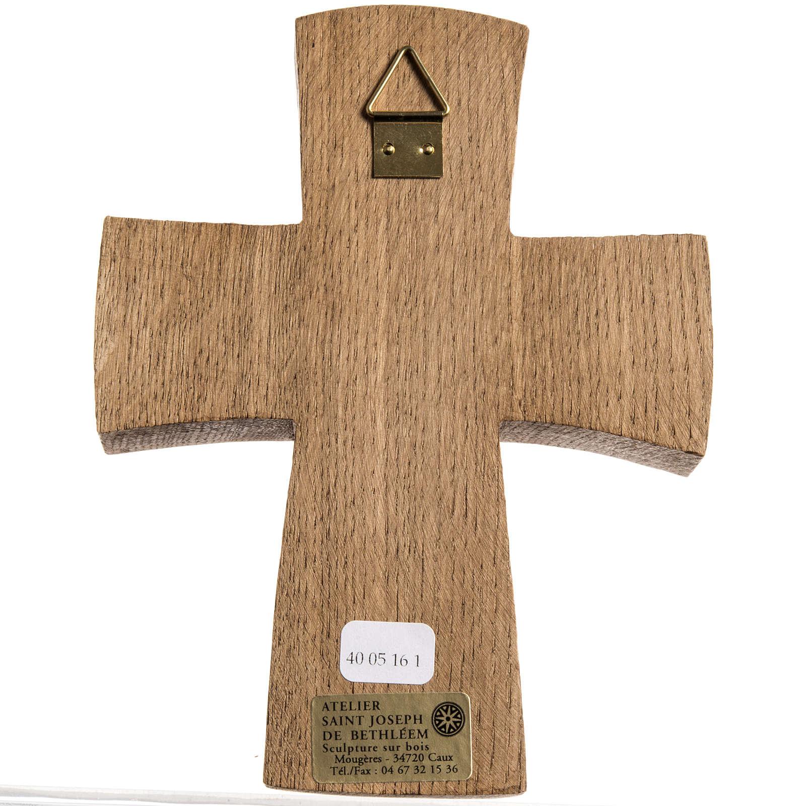 Cristo di Compassione legno Bethléem 4