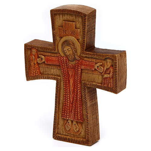 Cristo di Compassione legno Bethléem 2