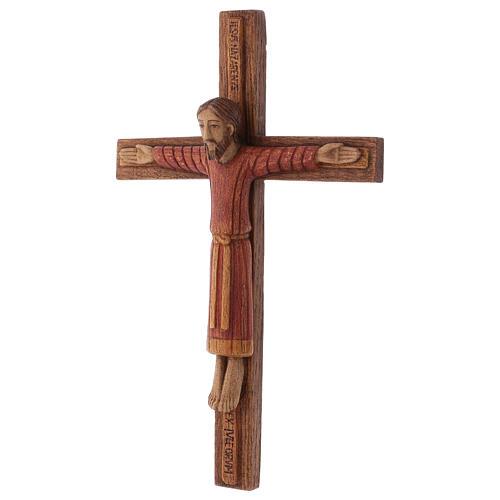 Christ de Batloo bois Bethléem 30x22 3