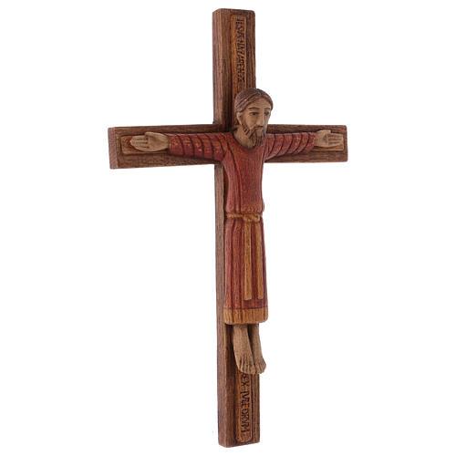 Christ de Batloo bois Bethléem 30x22 5