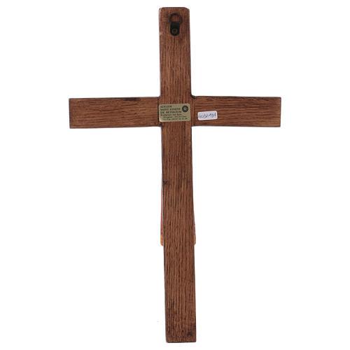 Christ de Batloo bois Bethléem 30x22 6