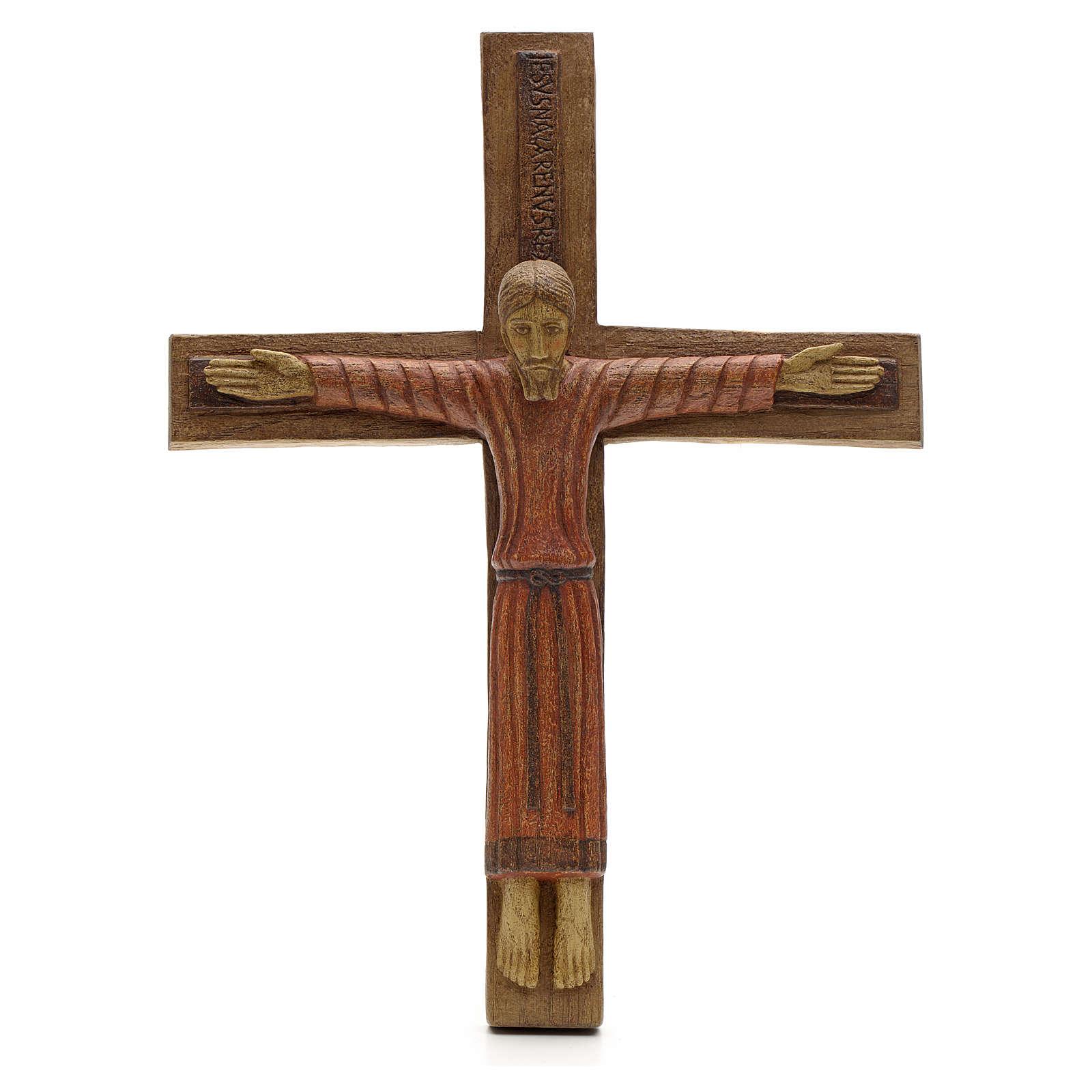 Cristo di Batloo legno Bethléem 30x22 4