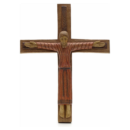 Cristo di Batloo legno Bethléem 30x22 1