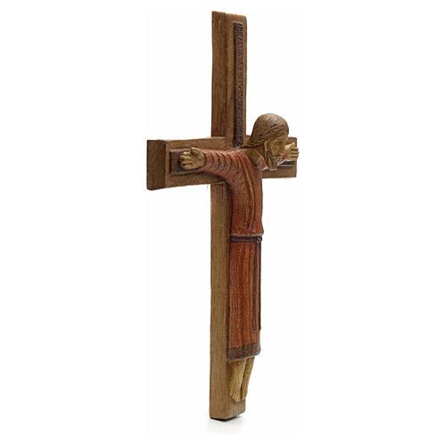 Cristo di Batloo legno Bethléem 30x22 2
