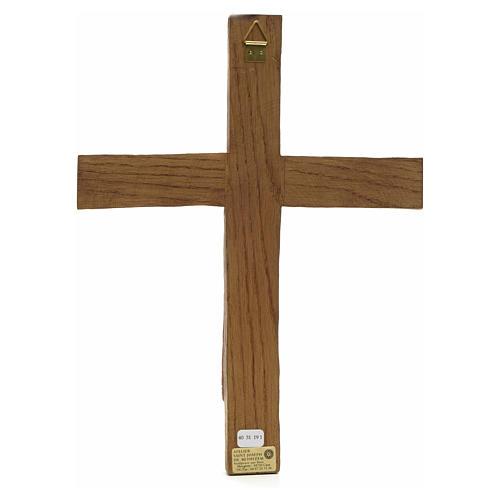 Cristo di Batloo legno Bethléem 30x22 3