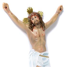 Corps Christ Agonie 30cm pâte bois élégant s2