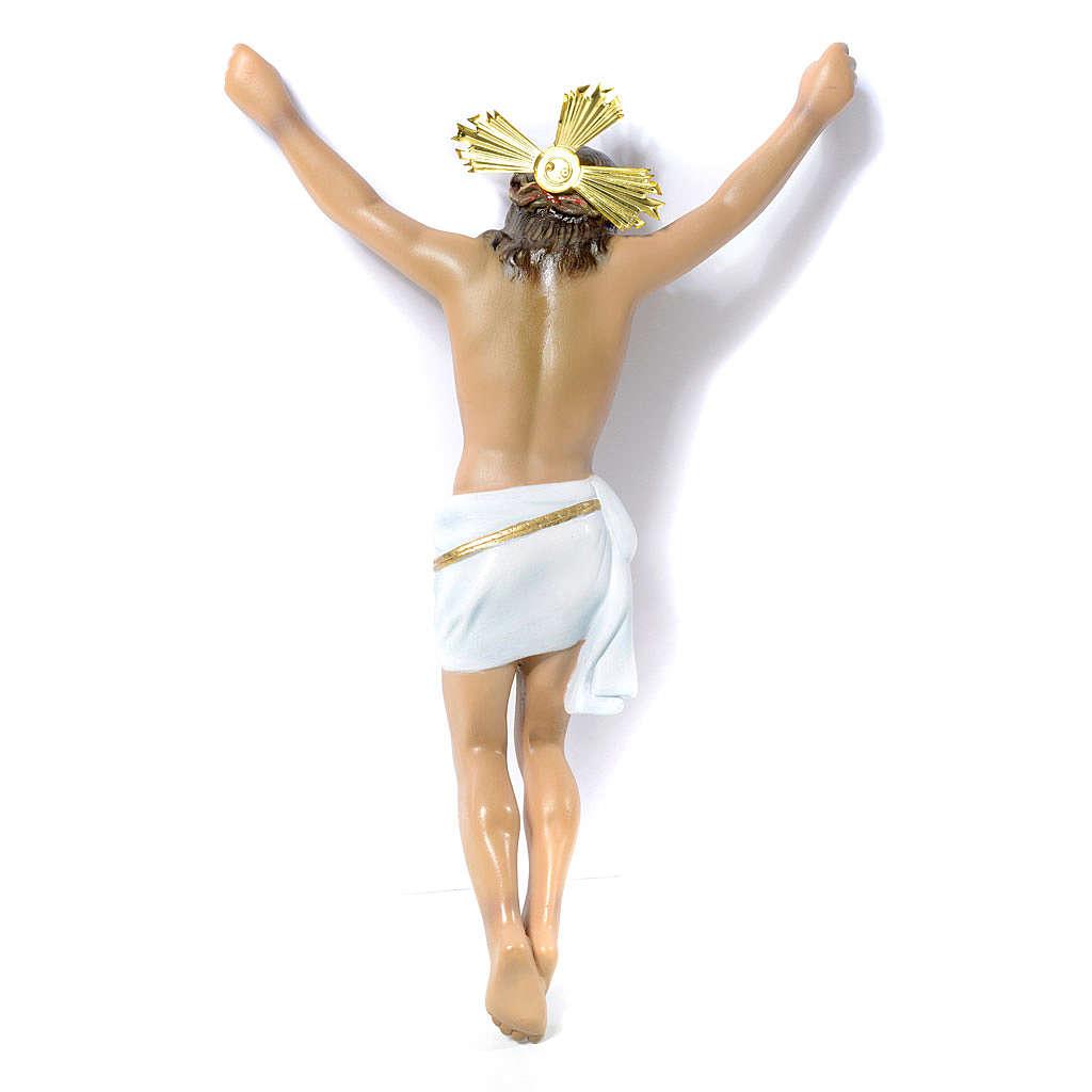 Corpo di Cristo Agonia pasta di legno 30 cm dec. elegante 4