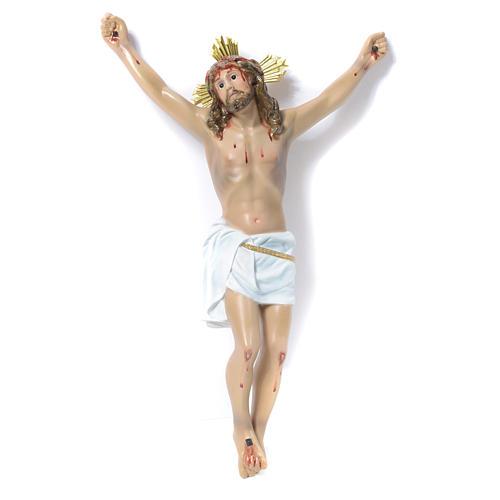 Corpo di Cristo Agonia pasta di legno 30 cm dec. elegante 1