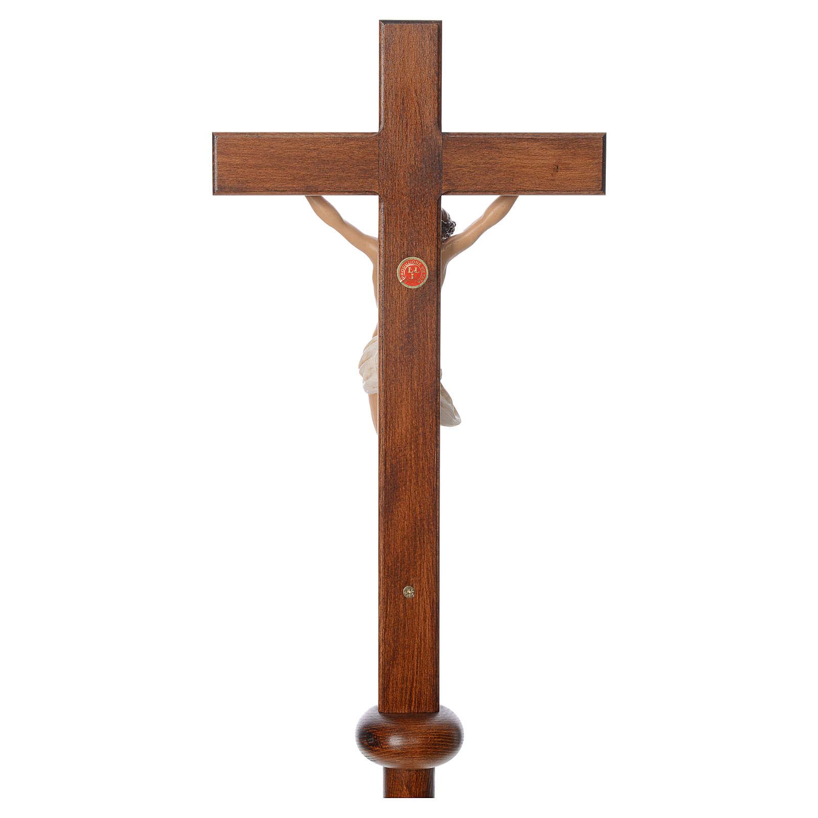 Cruz procesional resina y madera 210 cm Landi 4