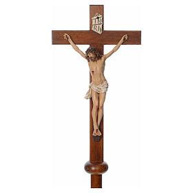 Cruz procesional resina y madera 210 cm Landi s3