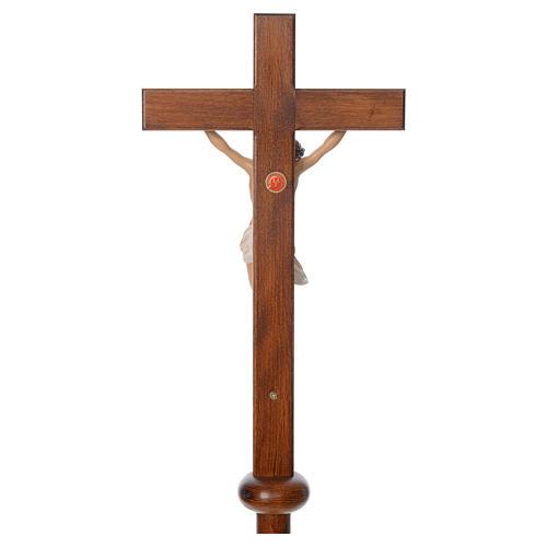 Cruz procesional resina y madera 210 cm Landi 6
