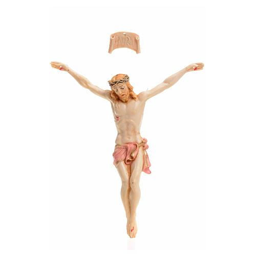 Corps du Christ pvc 9 cm Fontanini type porcelaine 1