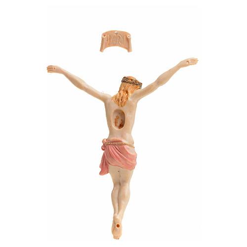 Corps du Christ pvc 9 cm Fontanini type porcelaine 2