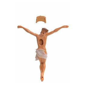 Corpo di Cristo pvc Fontanini cm 9 tipo legno s2