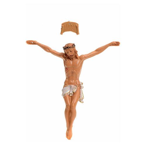 Corpo di Cristo pvc Fontanini cm 9 tipo legno 1