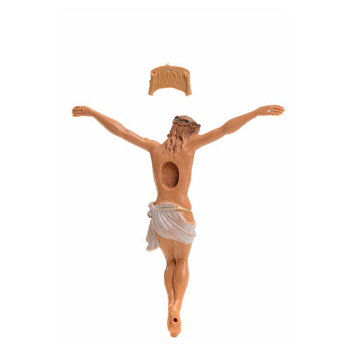 Corpo di Cristo pvc Fontanini cm 9 tipo legno 2
