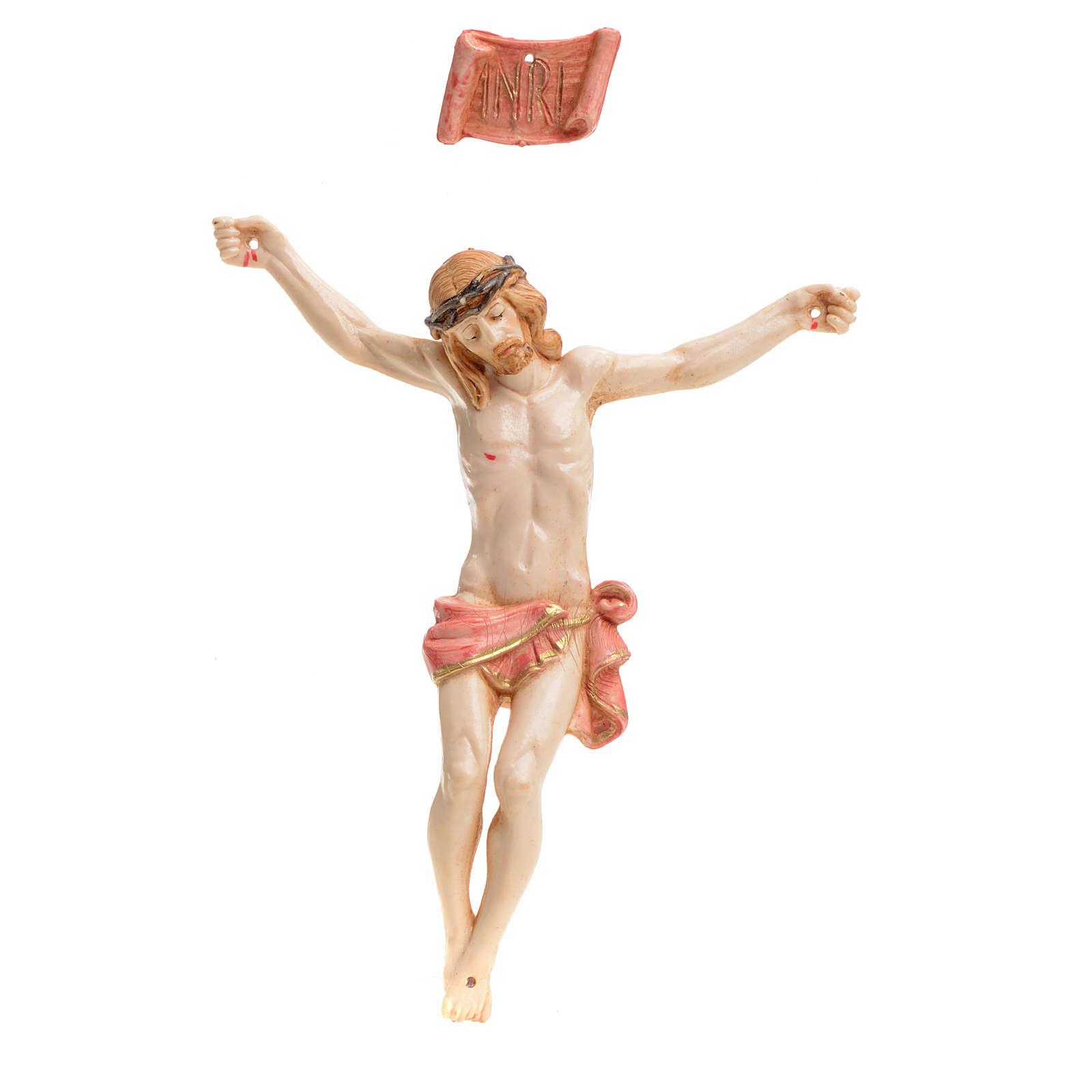 Cuerpo de Cristo 12 cm pvc Fontanini tipo porcelana 4