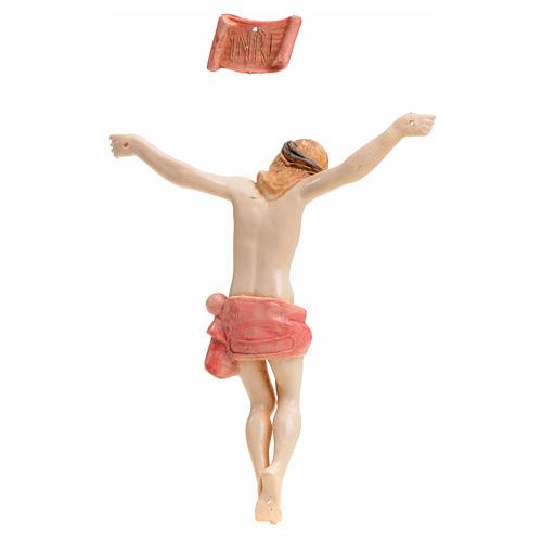 Cuerpo de Cristo 12 cm pvc Fontanini tipo porcelana 2